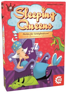 View all details for the board game Sleeping Queens