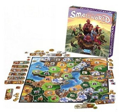 All details for the board game Small World and similar games