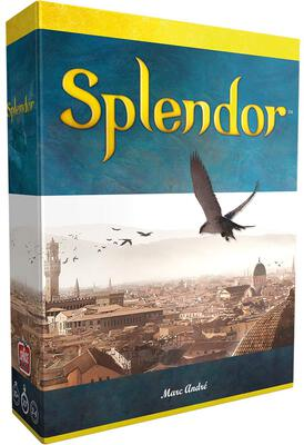 All details for the board game Splendor and similar games