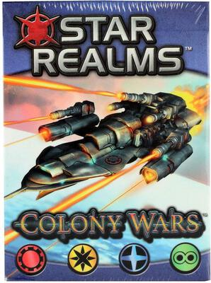 All details for the board game Star Realms: Colony Wars and similar games