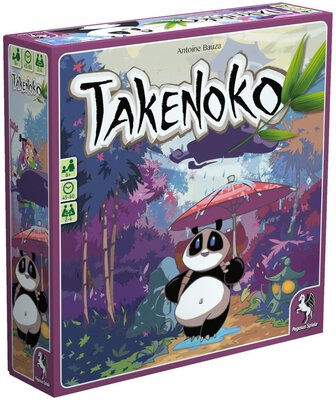 All details for the board game Takenoko and similar games