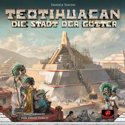 All details for the board game Teotihuacan: City of Gods and similar games