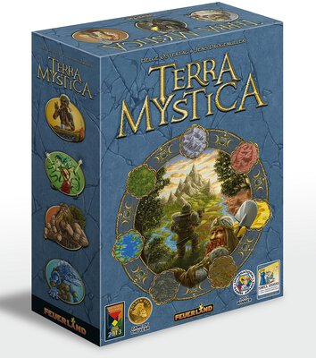 All details for the board game Terra Mystica and similar games