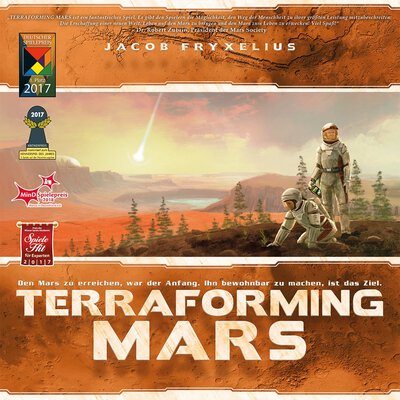 All details for the board game Terraforming Mars and similar games