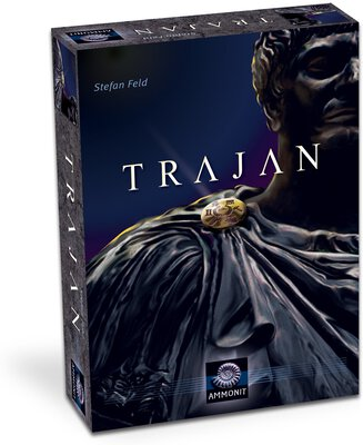 All details for the board game Trajan and similar games