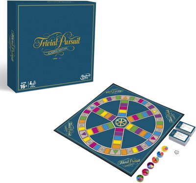 View all details for the board game Trivial Pursuit: Classic Edition