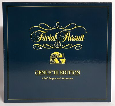 View all details for the board game Trivial Pursuit: Genus Edición III (Spain)