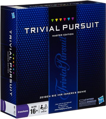 View all details for the board game Trivial Pursuit: Master Edition