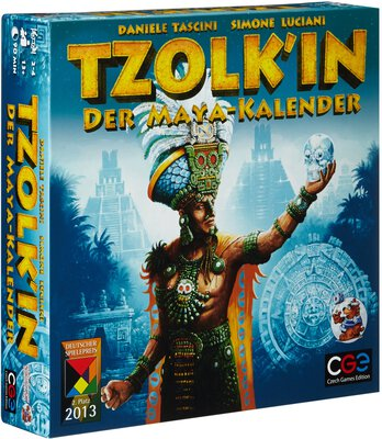 All details for the board game Tzolk'in: The Mayan Calendar and similar games