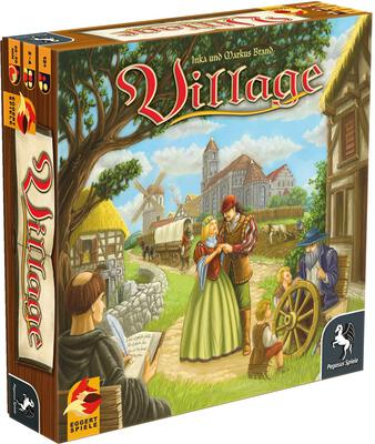 All details for the board game Village and similar games
