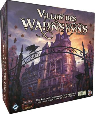 All details for the board game Mansions of Madness: Second Edition and similar games