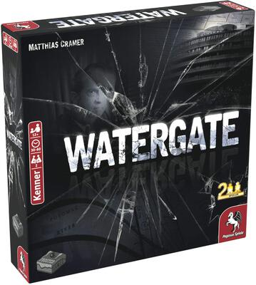 All details for the board game Watergate and similar games