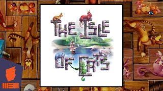 "YouTube Review vom Spiel ""The Isle of Cats"" von ""BoardGameGeek"""