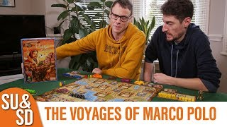 "YouTube Review vom Spiel ""The Voyages of Marco Polo"" von ""Shut Up & Sit Down"""